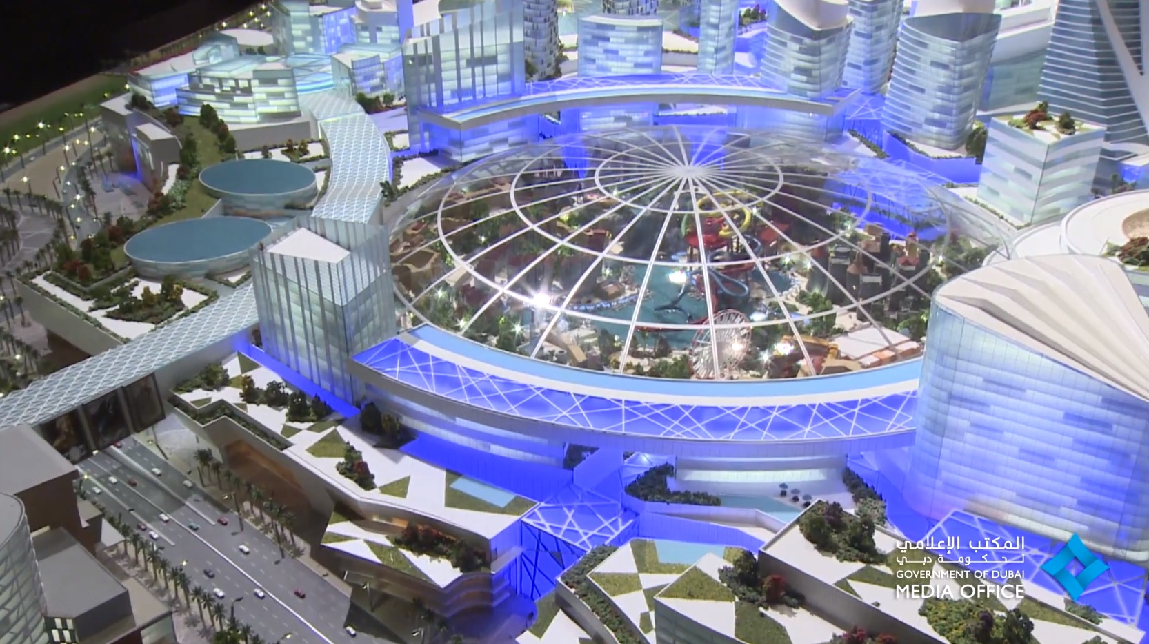 Park Auto Mall >> UAE Will Build The World's First Air-Conditioned City in Dubai - autoevolution
