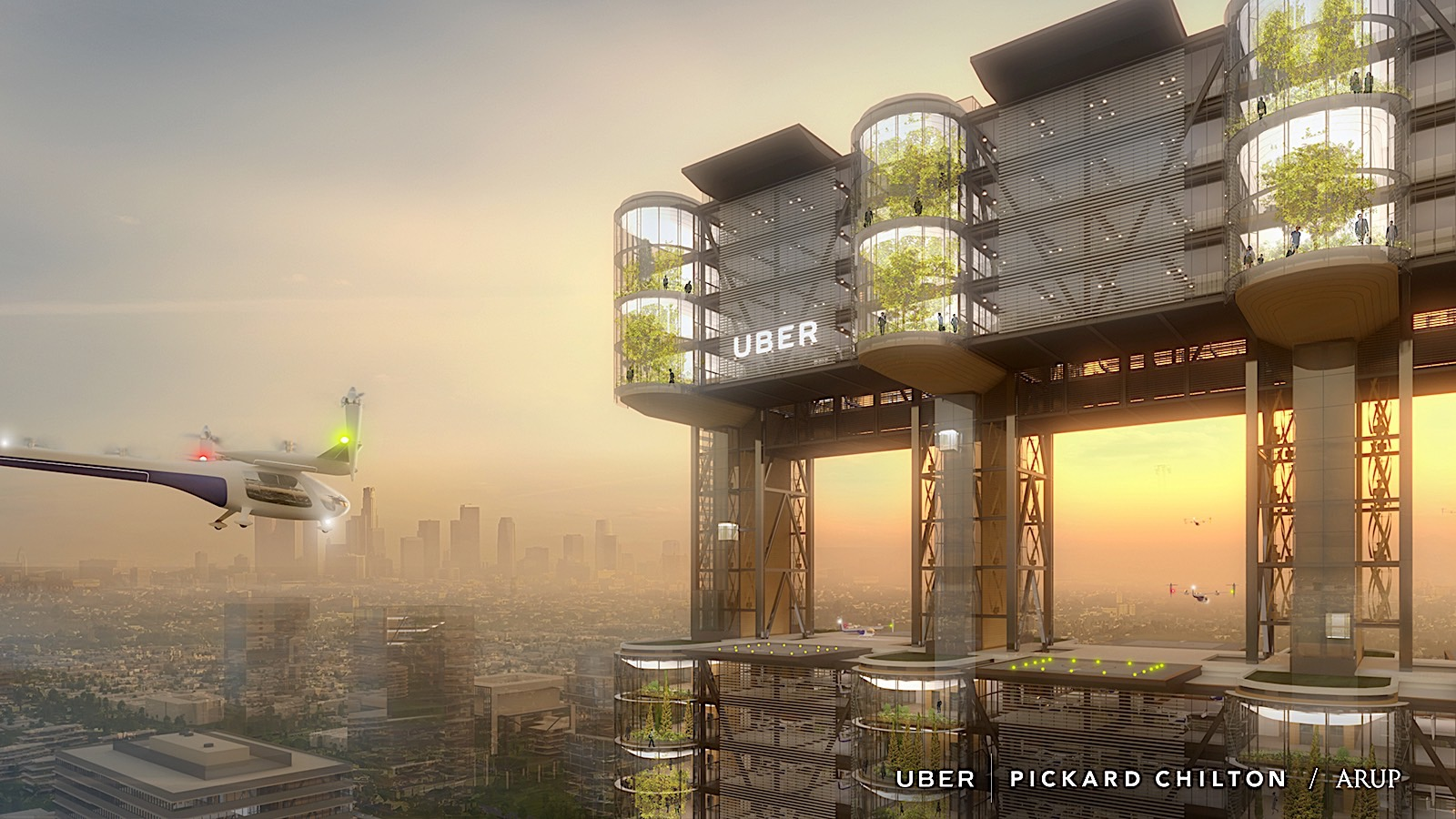 uber flying taxis to be researched in paris autoevolution. Black Bedroom Furniture Sets. Home Design Ideas
