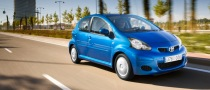 UK 2009 Toyota Aygo Lineup Upgraded