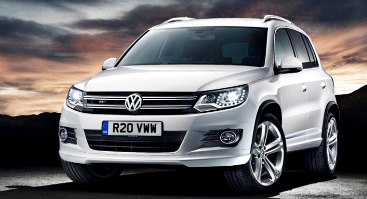 UK-Bound Volkswagen Tiguan Gets R-Line Treatment
