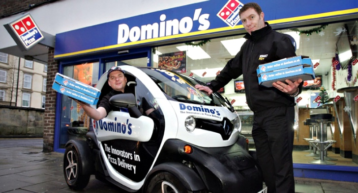 how to work for dominos pizza delivery in queanbeyan