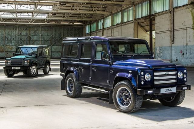 UK Company Working on Land Rover Defender With Mustang and Focus RS