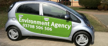 UK Environment Agency Goes Electric with i-MiEV Delivery