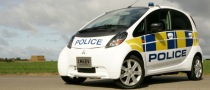 UK iMiEV Police Cars, You'll Never Hear Them Comin'