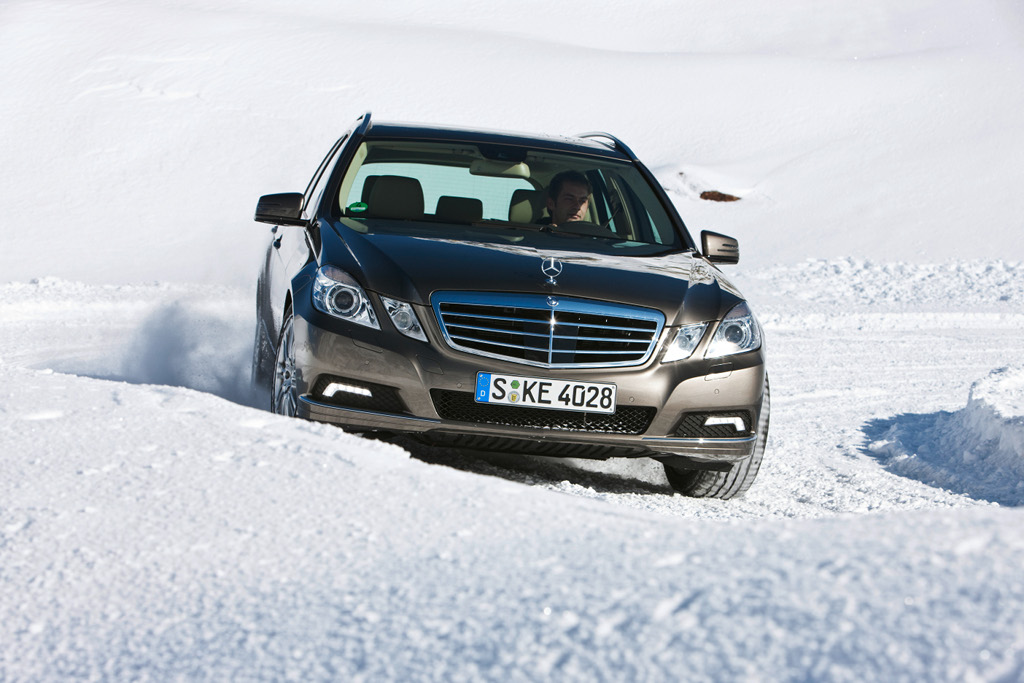 Uk mercedes benz promotes the use of winter tires for Mercedes benz winter tires