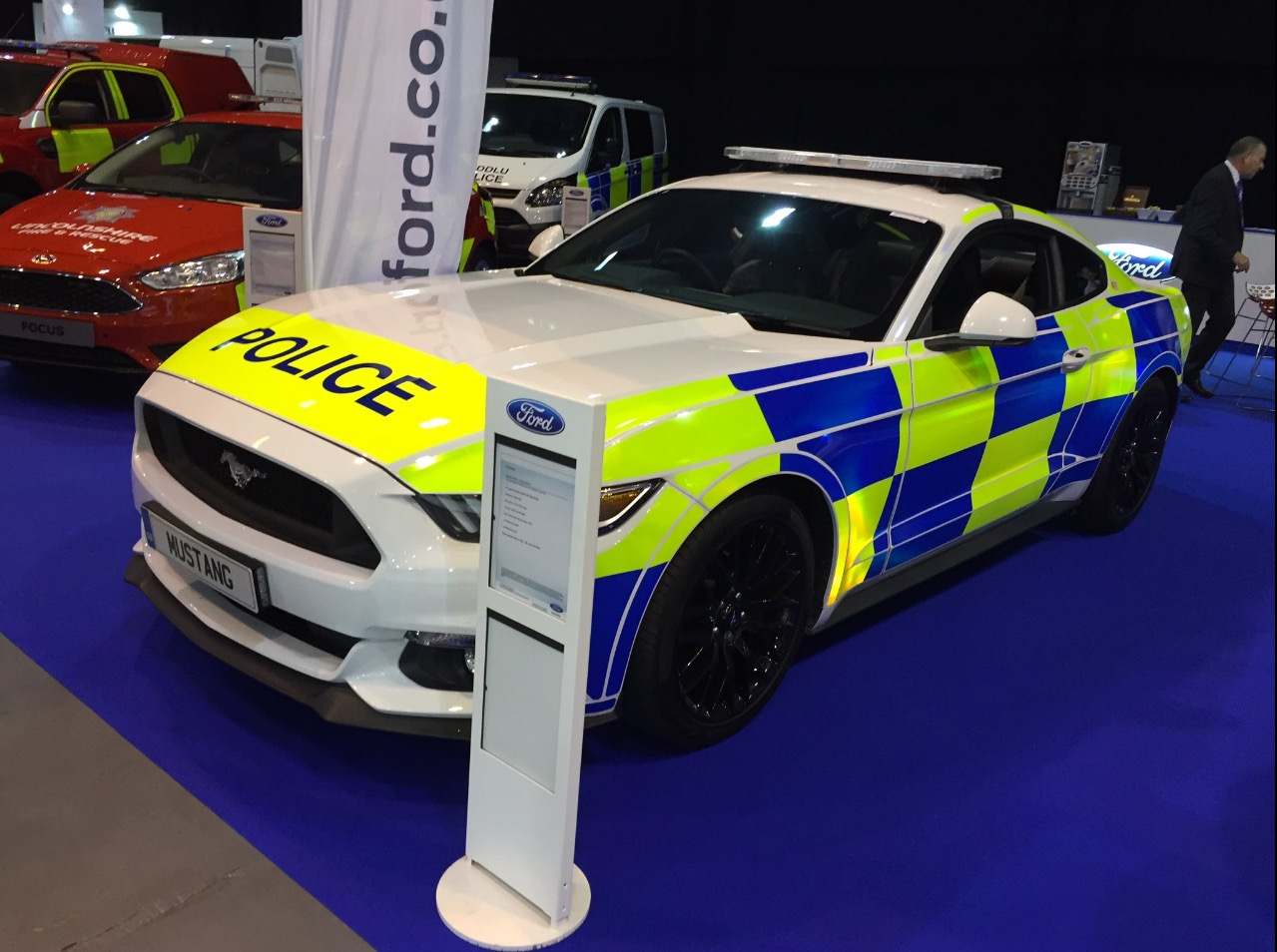 uk police assessing ford mustang gt fastback automatic could join the force autoevolution. Black Bedroom Furniture Sets. Home Design Ideas