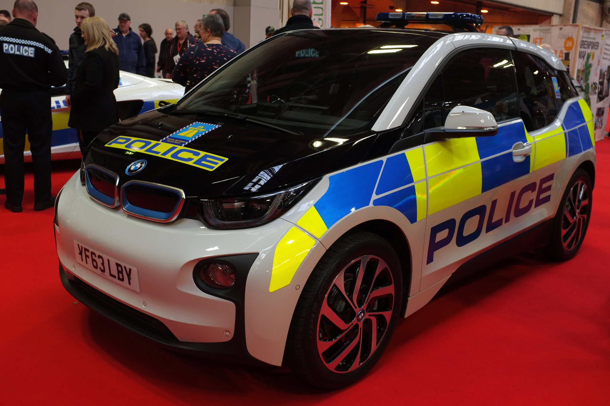 Uk Police Force Gets Bmw I3 Autoevolution