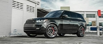"Ultimate Auto Puts the 2013 Range Rover on 24"" Vellano Wheels [Photo Gallery]"
