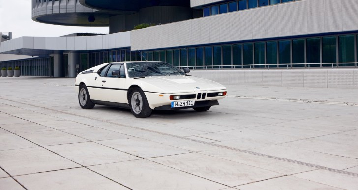 Ultra Rare 1978 BMW M1 Display Sponsored by Oracle Finance at Salon Prive