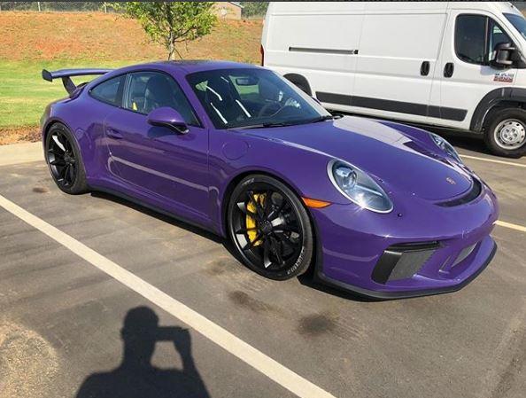 Ultraviolet 2018 Porsche 911 GT3 Looks Bold , autoevolution
