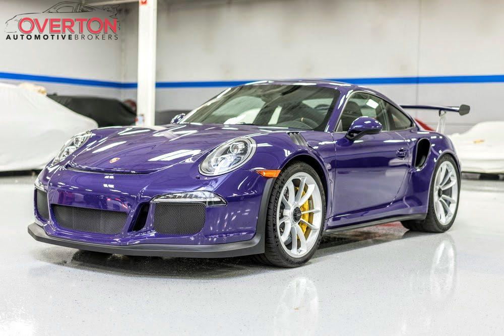Ultraviolet Blue Porsche 911 GT3 RS Shows Up for Sale in San