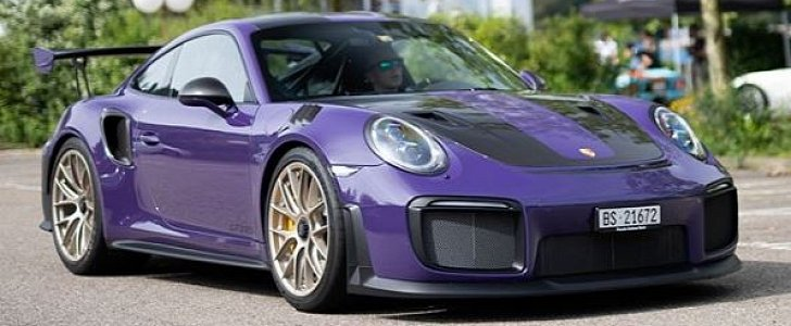 Ultraviolet Porsche 911 Gt2 Rs With Looks Brutal In