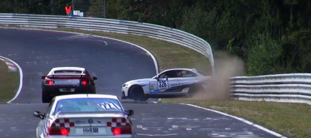 Unaware Bmw Driver Spins Twice In The Same Nurburgring Corner