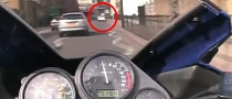 Unbelievably Clumsy FZ6 Rider Crashes Hard into Parked Mercedes [Video]