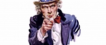 Uncle Sam Wants You for Muscle Car Army
