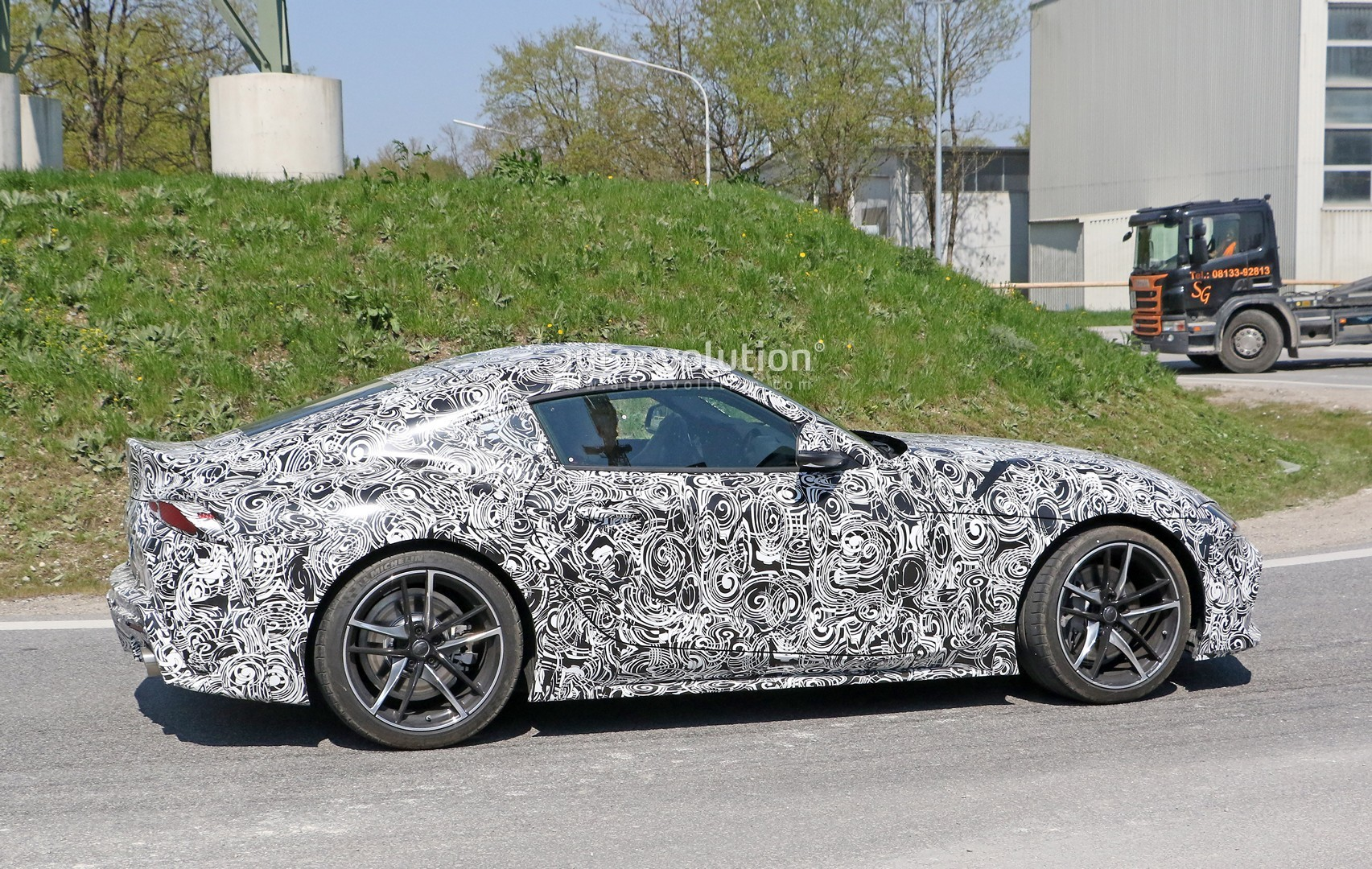 ... New Toyota Supra Spied Testing With Production Wheels ...