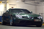 Understated Green SLR McLaren Spotted in London [Video]