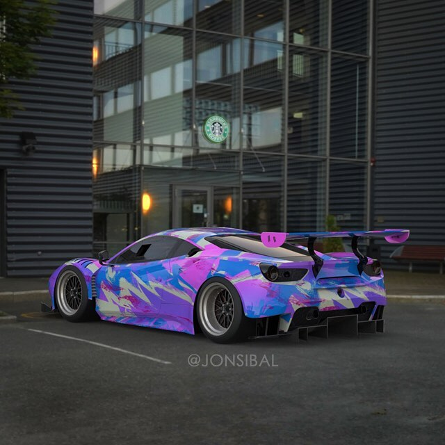 Unicorn Ferrari 488 Gt3 Rendered As The Internet S Dream HD Wallpapers Download free images and photos [musssic.tk]