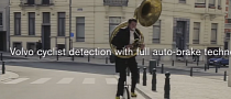 Unicycling Trombonist Proves Volvo's Point [Video]
