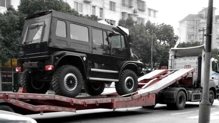 Unimog SUV is One Step Up from the G-Wagon