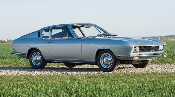 Unique 1967 Bmw Glass 3000 V8 Fastback By Pietro Frua To