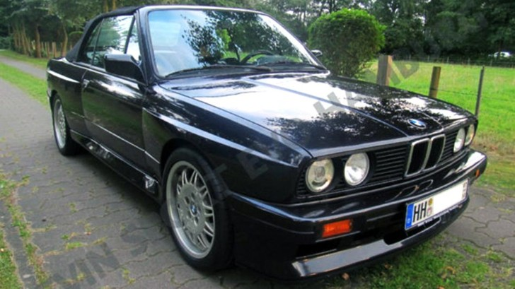 Unique BMW E30 M3 Sport Evolution Convertible for Sale