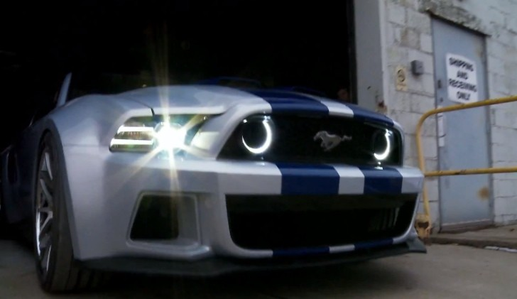 "Unique Ford Mustang to Play Hero Car Role in Upcoming ""Need for Speed"" Movie [Video]"