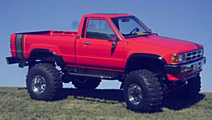 Toyota Tacoma Evolution >> Unique Lifted 1986 Toyota Turbo Pickup For Sale Again - autoevolution