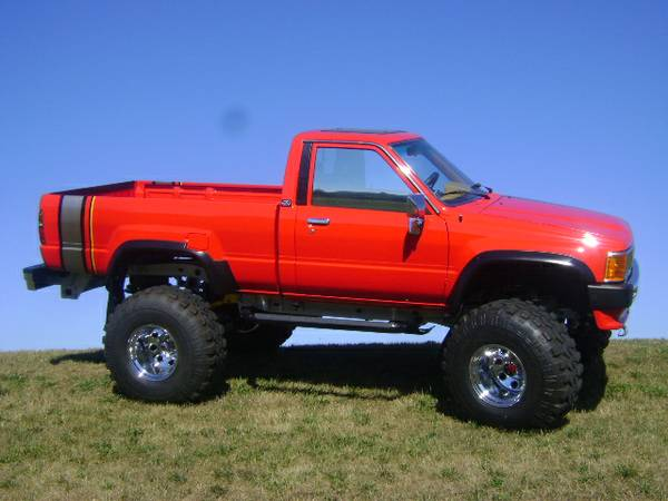 Unique Lifted 1986 Toyota Turbo Pickup For Sale Again ...