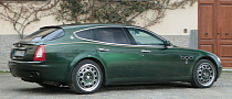 Unique Maserati Quattroporte Shooting Brake Up for Auction