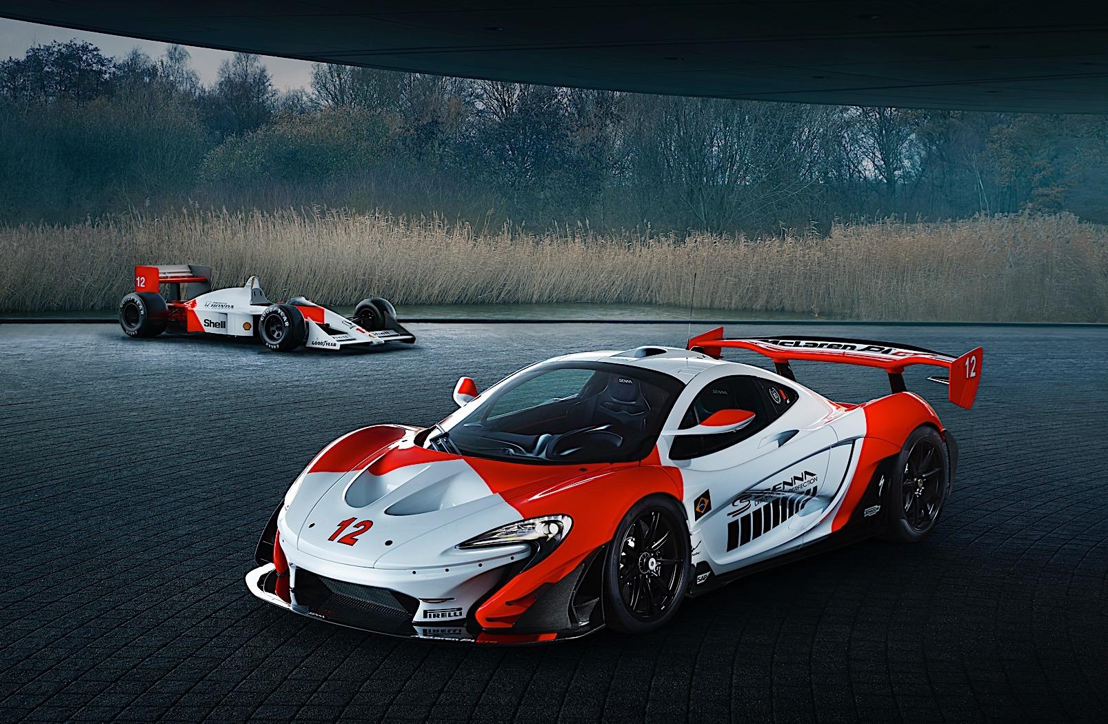 McLaren reveals bespoke P1 GTR inspired by Ayrton Senna