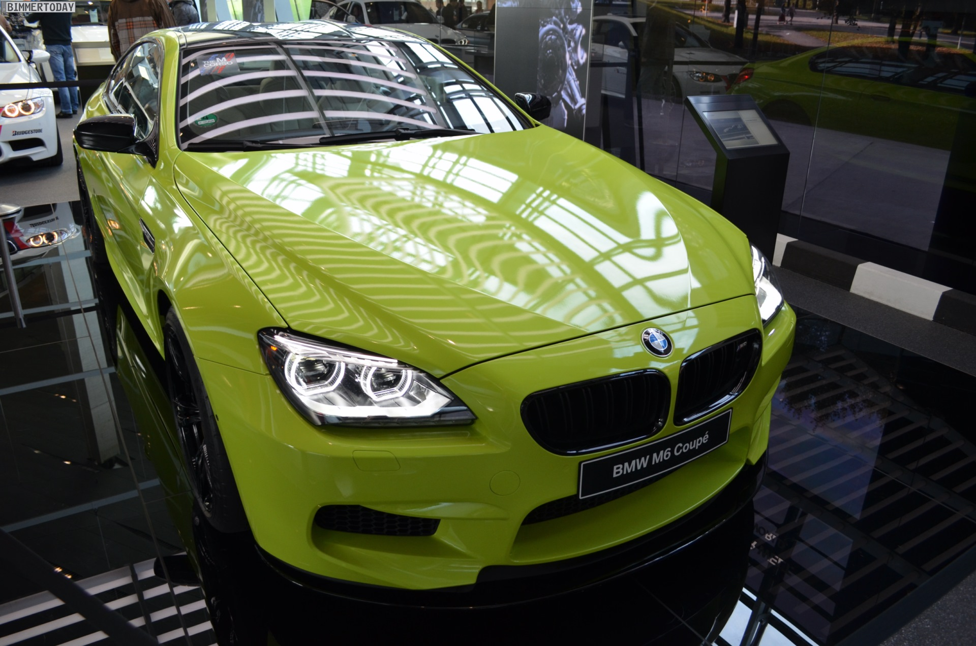 Unique Neon Green Bmw M6 Coupe Shows Up At Bmw Welt Autoevolution