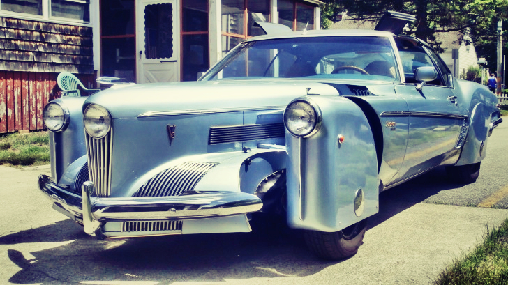 Tucker Car For Sale >> Unique Tucker Torpedo Prototype Replica Up for Sale - autoevolution