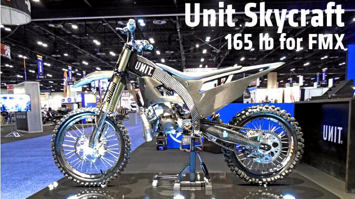 Unit Skycraft Shows Awesome Carbon FMX Prototype Bike [Video]