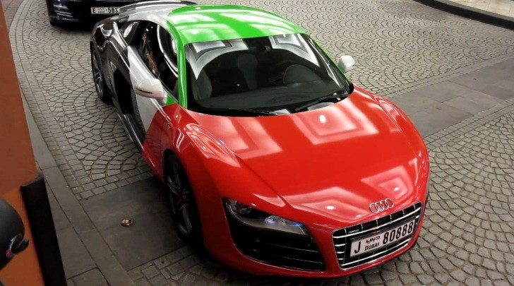 United Arab Emirates Audi R8 V10 [Video]