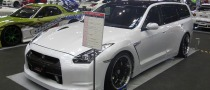 Unofficial: Nissan GT-R Wagon at the 2009 Nagoya Auto Trend