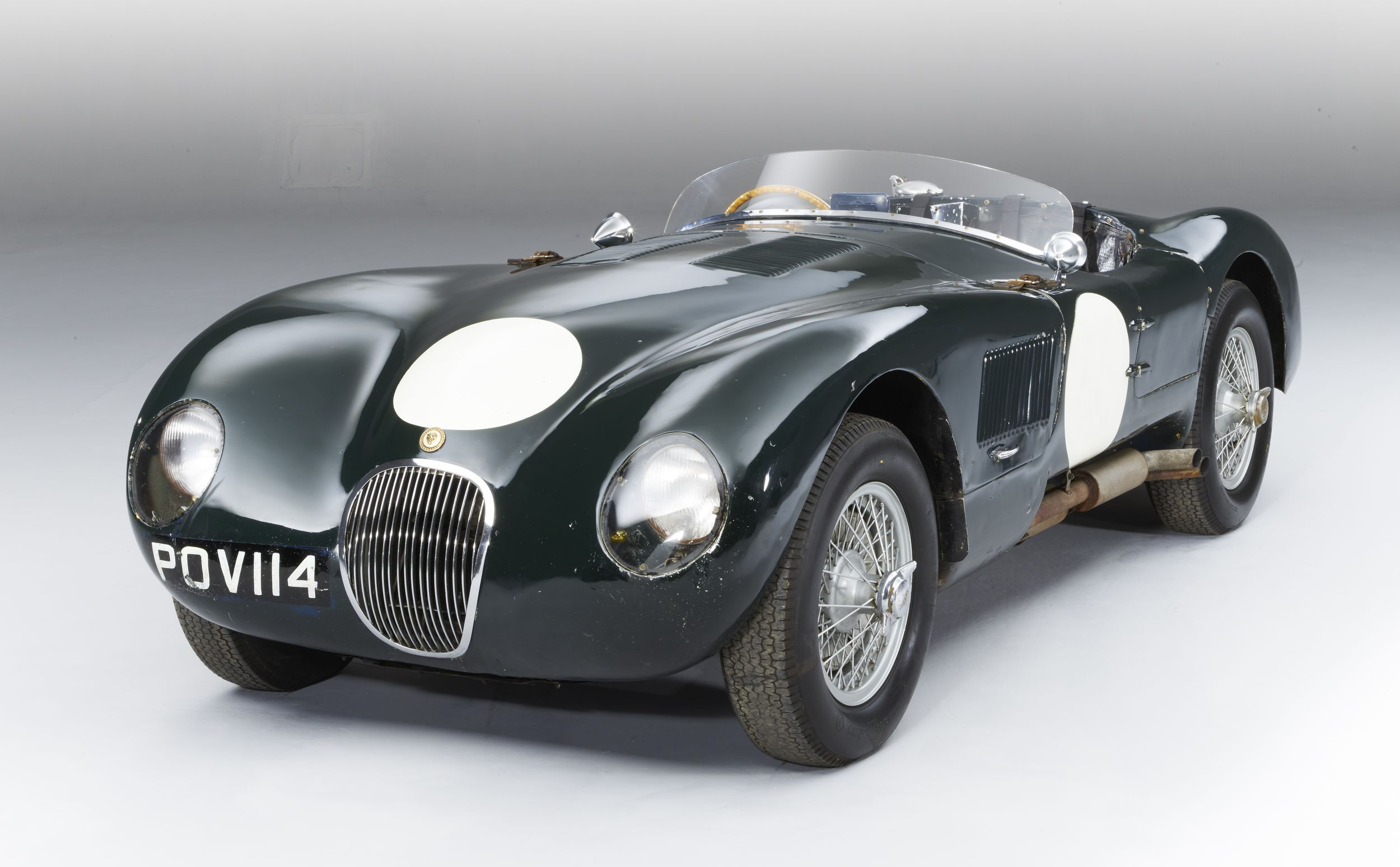 Unrestored Jaguar C-Type Once Raced by Stirling Moss to Cross the ...