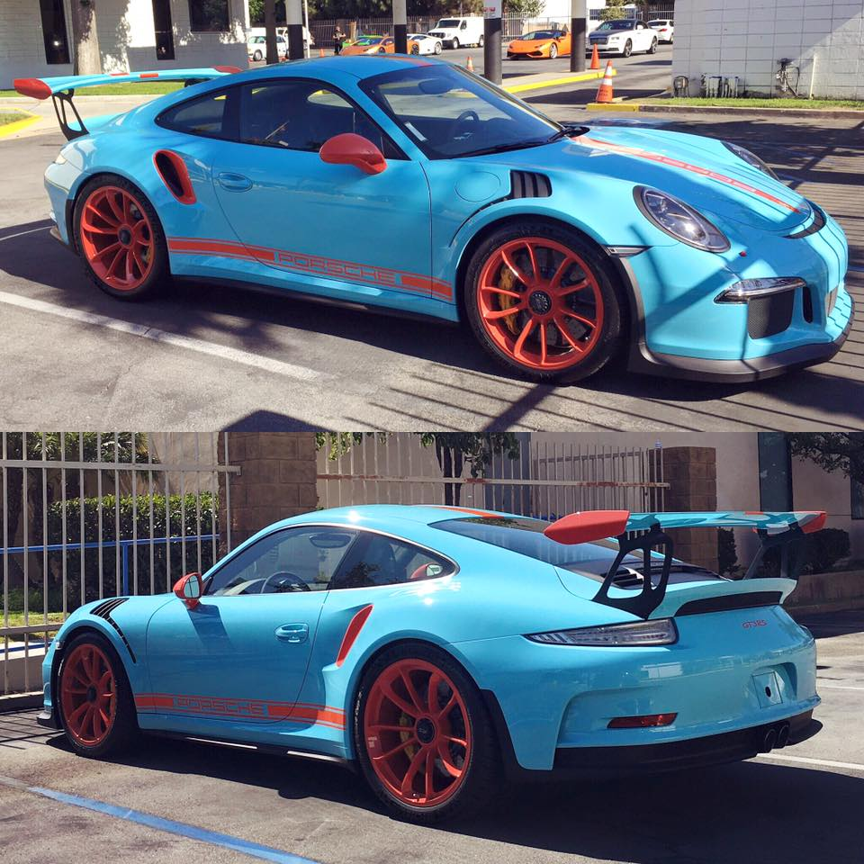 unspoken gulf livery on porsche 911 gt3 rs pdk is freaking awesome autoevolution