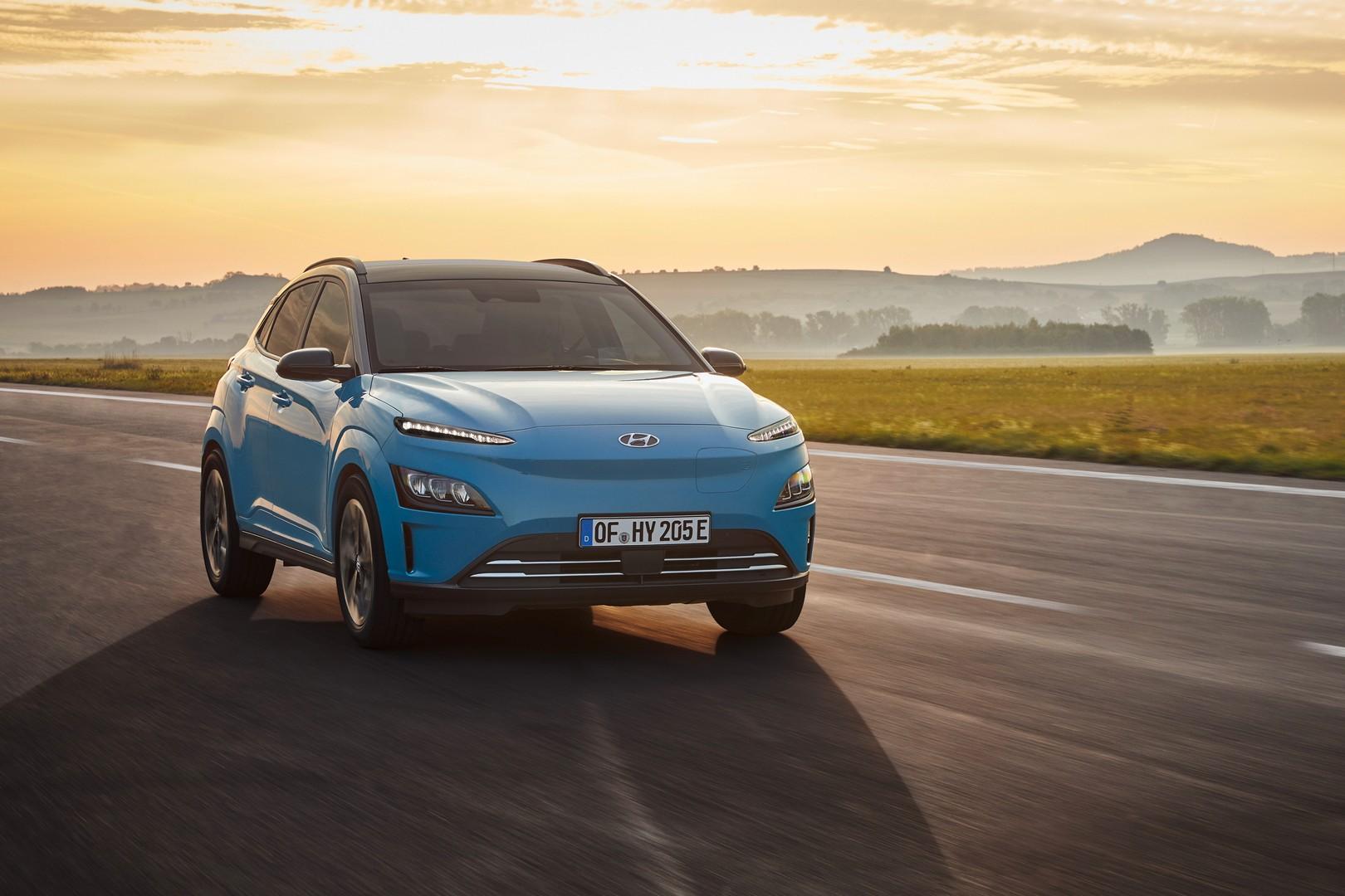 Hyundai Reveals 2021 Kona EV