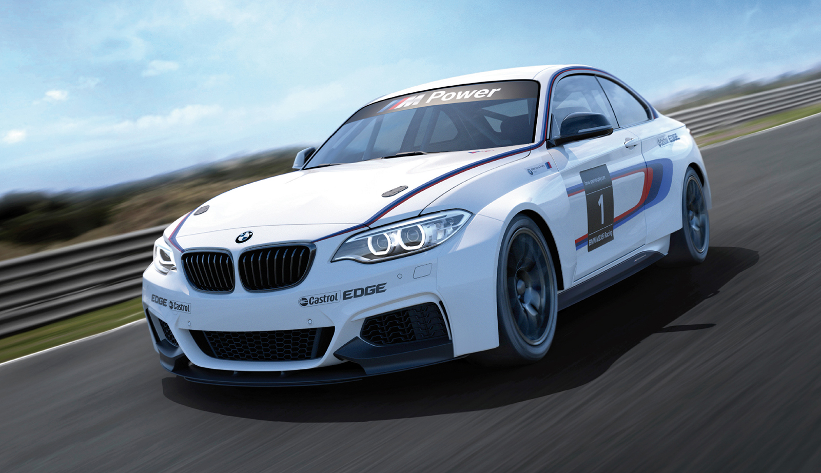 Unveiled BMW M235i Racing