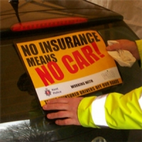 Uninsured motorists risk a £1,000 fine and even losing their cars in UK