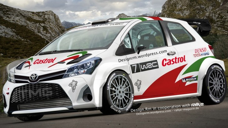 ... WRC and engineers are currently working on a secret Toyota Yaris