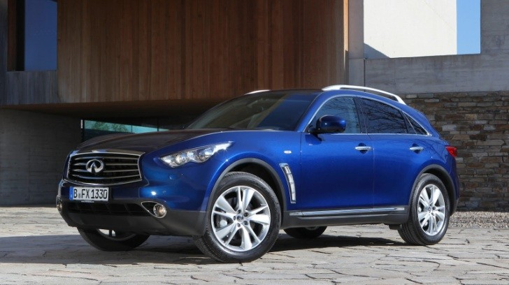 Updated 2012 Infiniti FX Launched in Europe