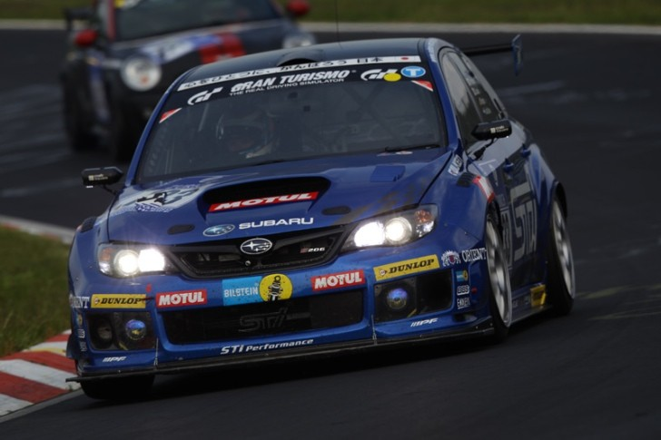 Updated 2013 Subaru WRX Proves Impressive Before Nurburgring