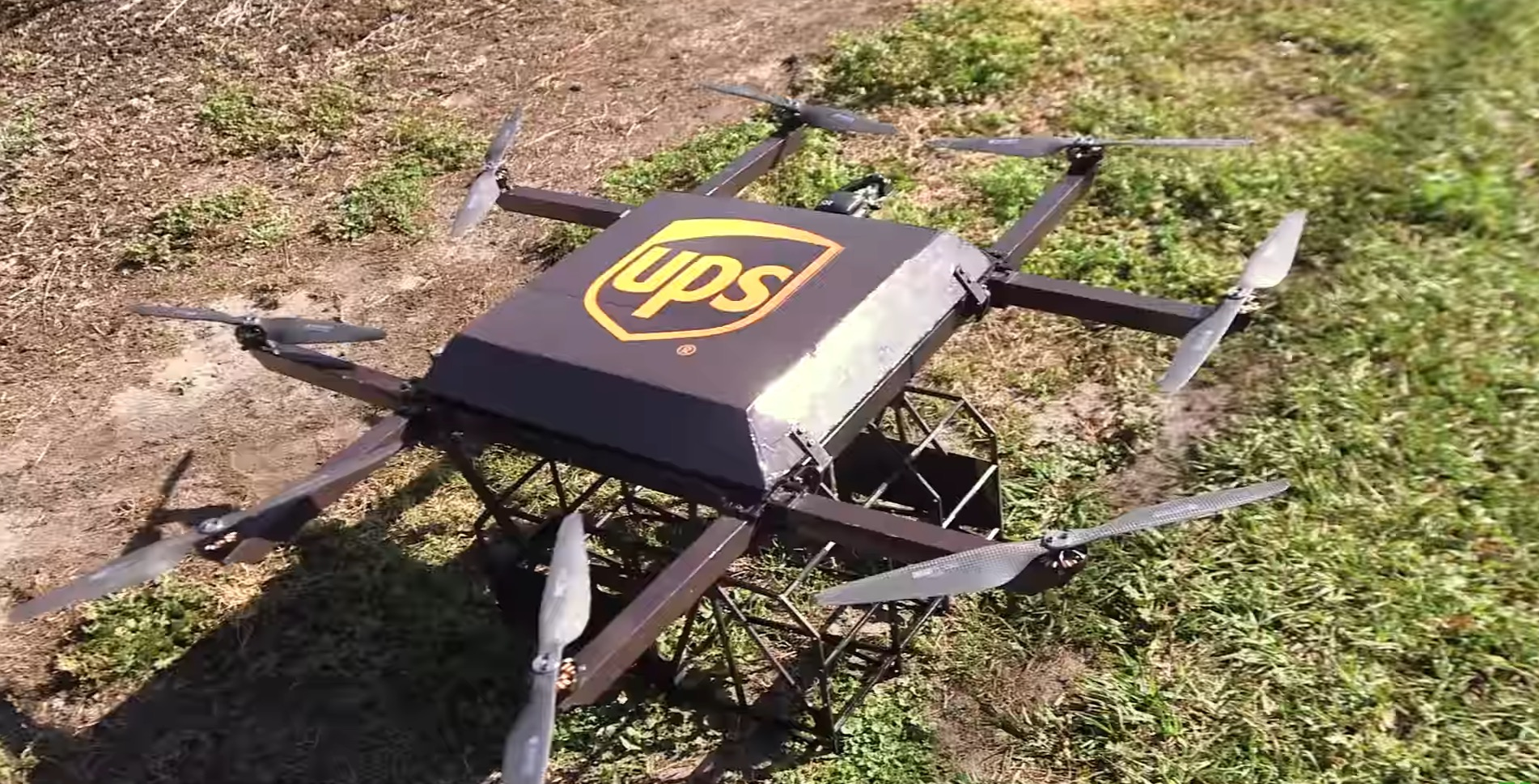UPS Testing Residential Drone Deliveries Launched From Trucks