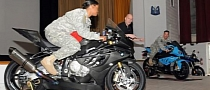 US Army Road Safety Training with BMW Specialists