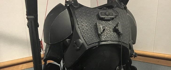 U.S. Army TALOS Exoskeleton to Begin Manned Testing in 2019