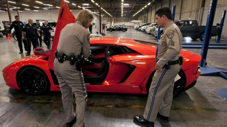 US Customs Confiscate Multiple Supercars after Asian Export Scam Fails
