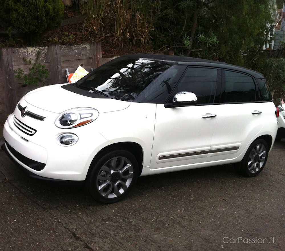 US Market Fiat 500L Spotted For First Time