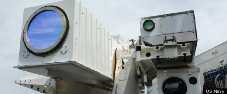 US Navy Wants Lasers on Their Vehicles